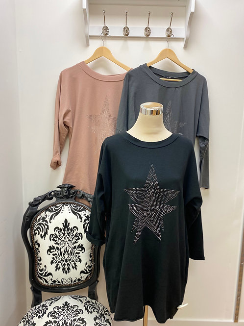 Two pocket star tunic