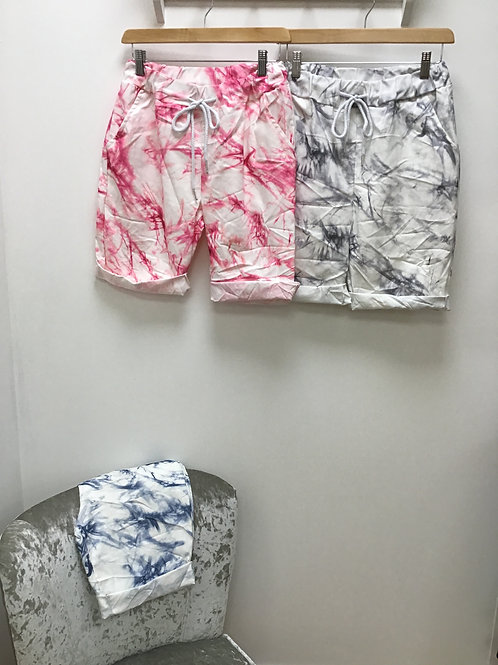 Magic Crushed Tie Dye Shorts