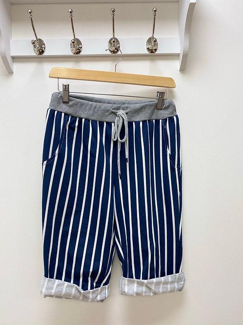 Striped Magic Shorts