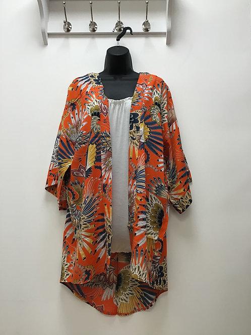Nozomi Orange Kimono