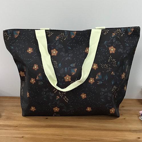 Tudor rose maxi bag teal