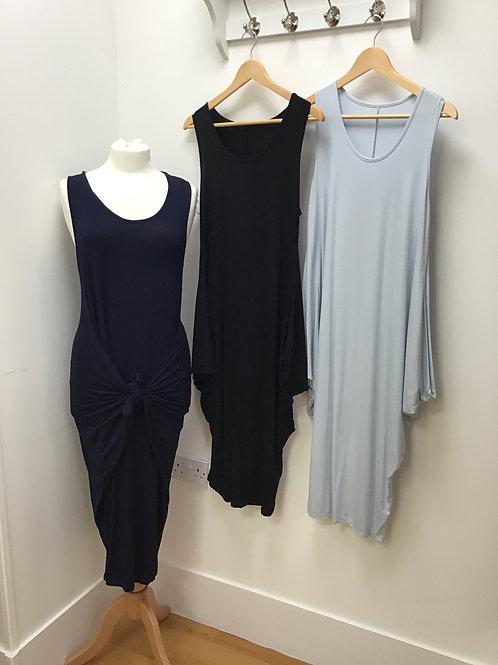 Sleeveless Parachute Dress