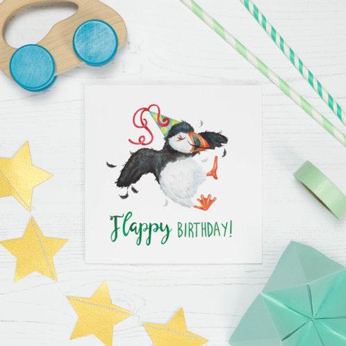 Flappy Birthday Greeting Card