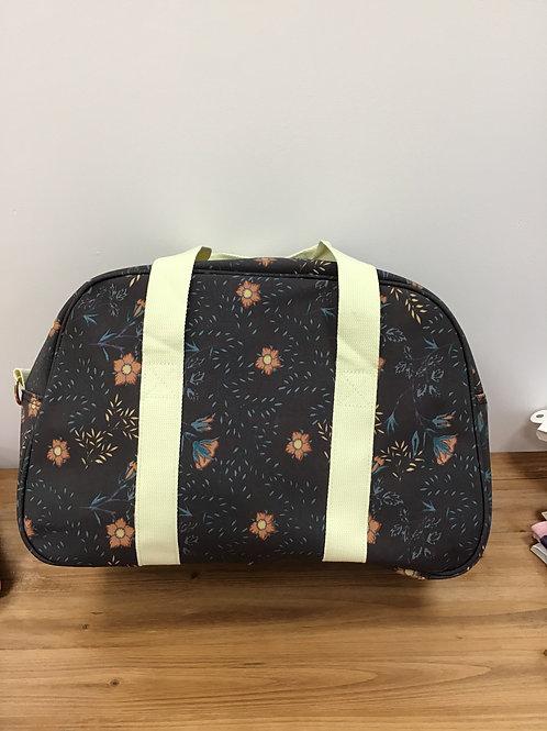 Tudor rose weekender bag