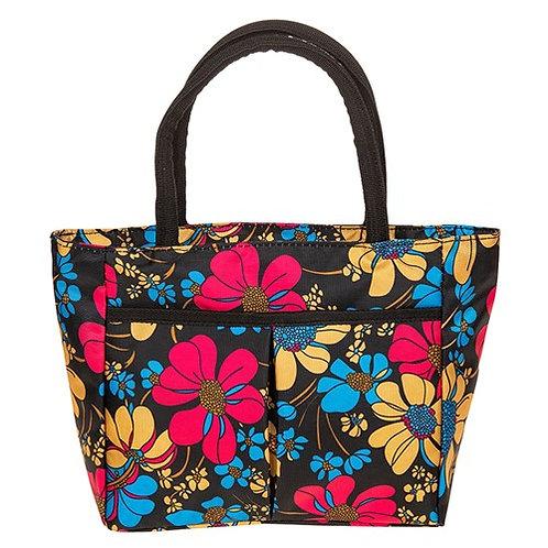Tropical flowers waterproof bag