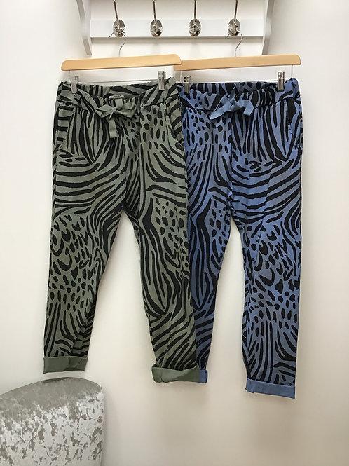 Animal Print Magic Trousers