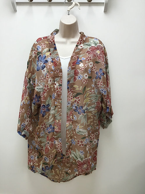 Yama Brown Kimono