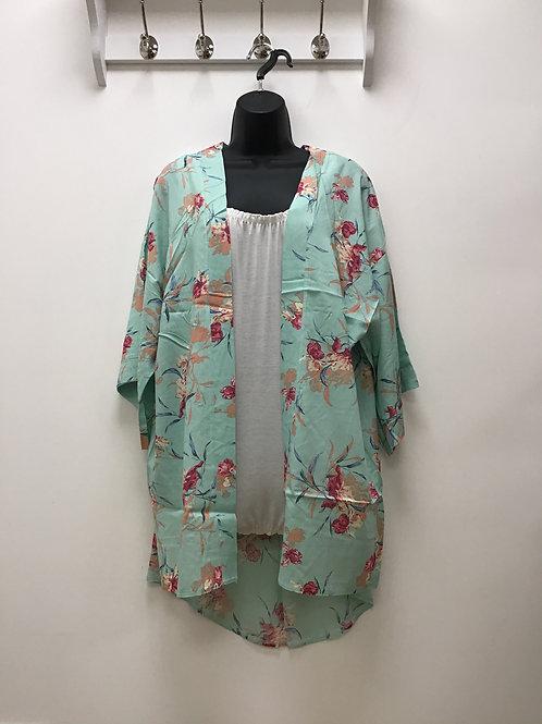 Sakiya Green Kimono