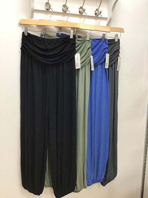 Large Waistband Harem Trousers