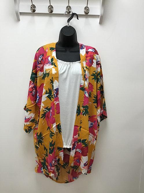 Nara Mustard Kimono