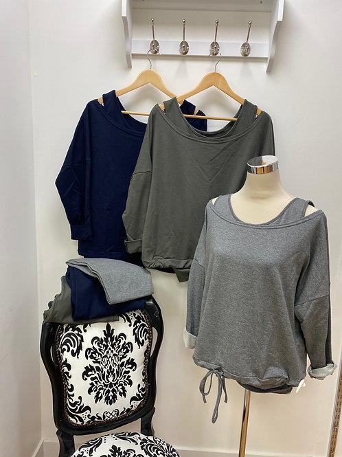 Three-piece loungewear set