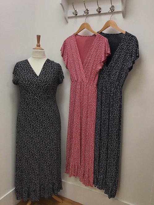 Ditsy Maxi Dress