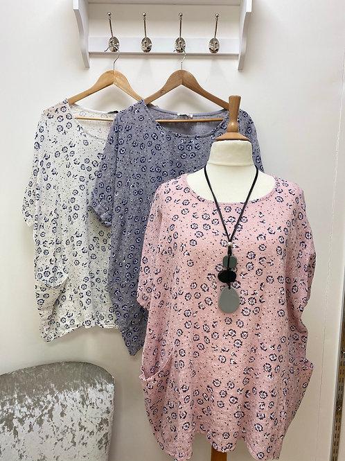 Floral pattern top