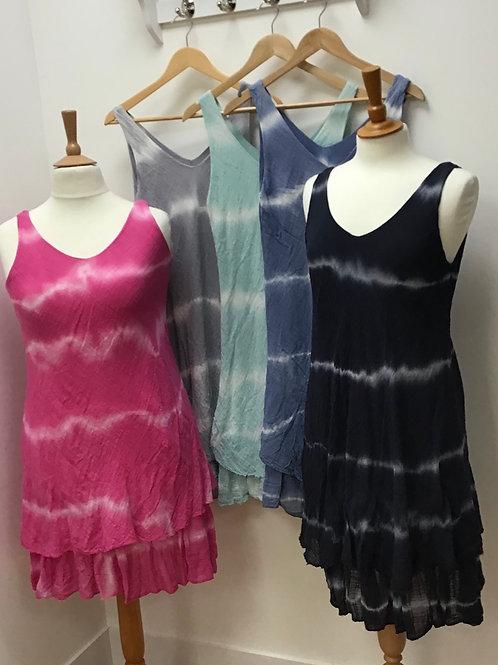 Tie Dye Layer Dress