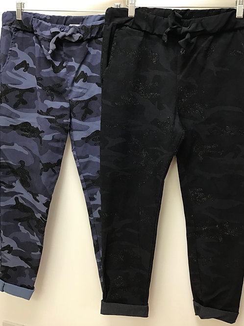 Magic Sparkle Camouflage Joggers