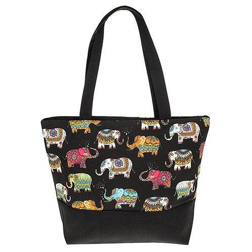 Elephants galore tote bag