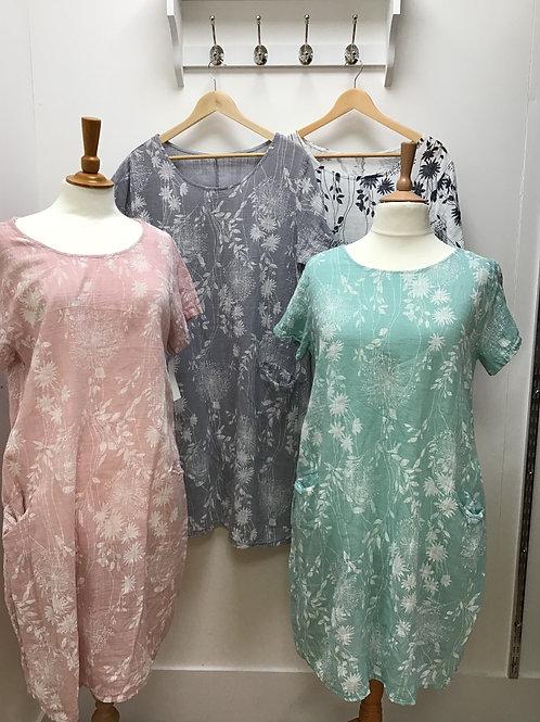Dandelion cloth dress