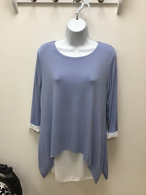 Double layer shirt top