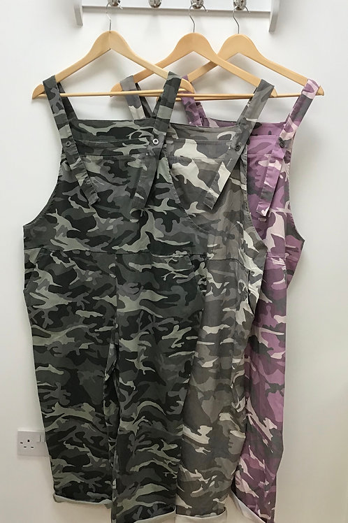 Magic Camouflage Dungarees