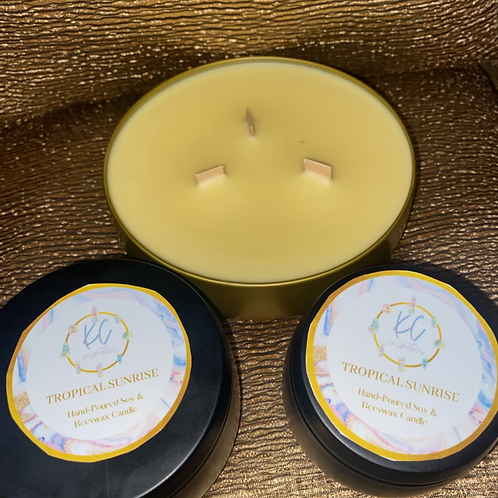 Tropical Sunrise Candles