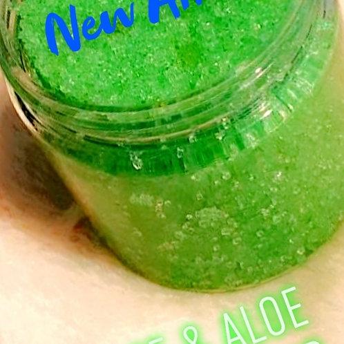 Aloe & Tea Tree Lip Scrub