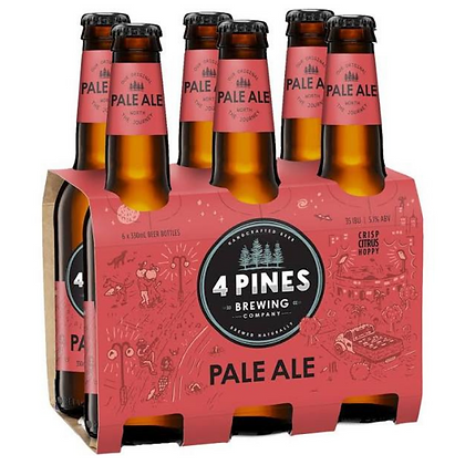 4 Pines Brewing Pale Ale 330ml