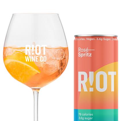 Rosé Spritz by Riot Wine Co Four Pack