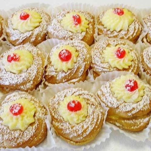 Zeppole di San Giuseppe (St Joseph's Day Pastries)