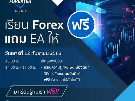 สอนเทรด Forex วันที่ 12/9/20 พร้อมรับ Free EA Forex