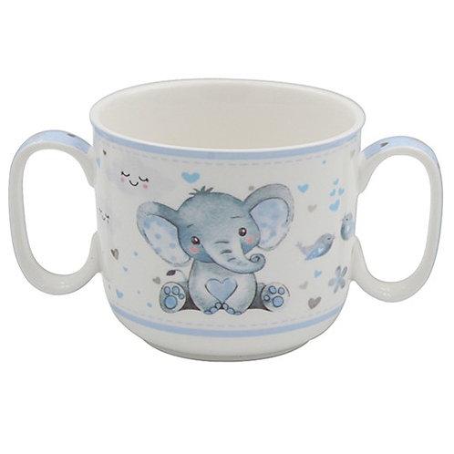 Bird & Ellie 2-Handled Mug - Blue