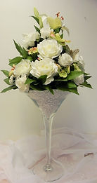Martini Vase | available to hire | all occasions | Shropshire