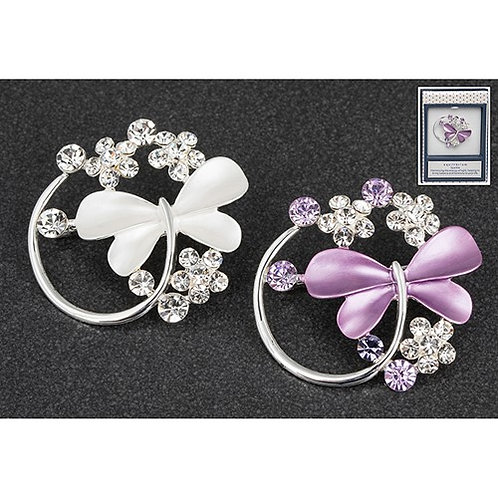 Equilibrium Pearlised Butterfly Brooch