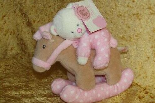 Rocking Horse Musical Toy - Pink