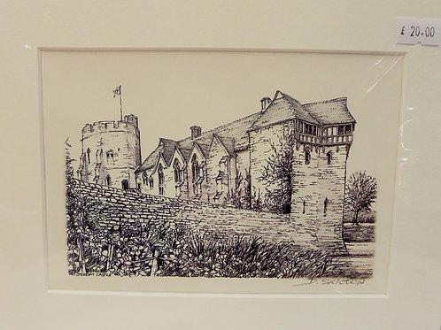 Print - Stokesay Castle, Craven Arms