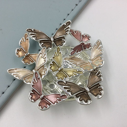 Magnetic Brooch Scarf Clip XZ-25