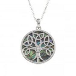 Tide Jewellery - Celtic Tree Pendant