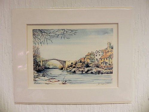 Original Watercolour - Ironbridge