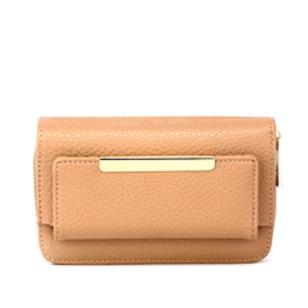 Nude Zip Around Purse/Wallet