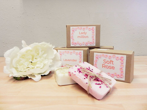 Be the Pink Daisy Handmade Shea Butter Soap