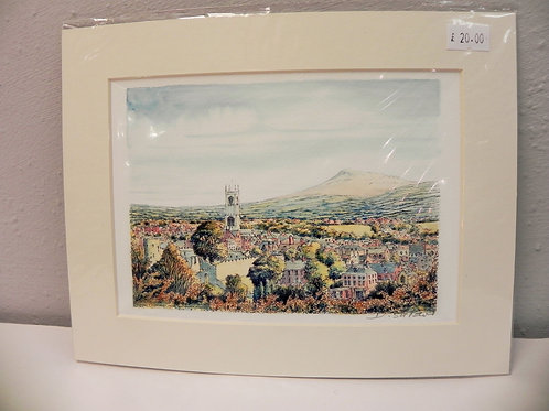 Print - Ludlow & Clee Hill