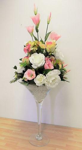 Rose & Lisanthus Centrepiece