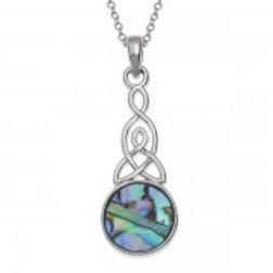 Tide Jewellery - Round Celtic Knot Necklace
