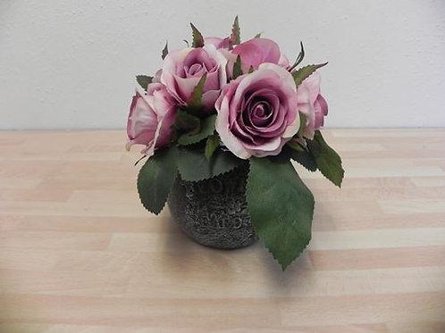 Artificial Purple Vintage Roses