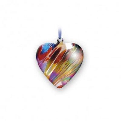 Nobile Glass Birth Hearts January - December