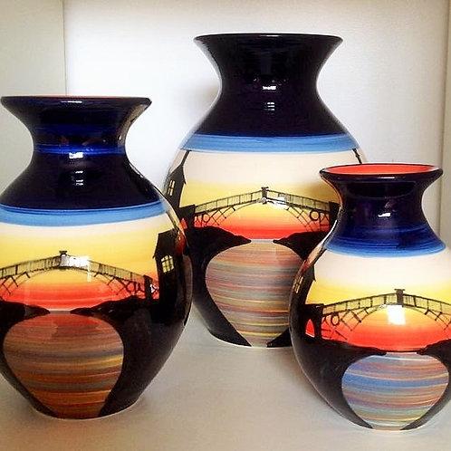 Rachel Frost Pottery Ironbridge Vase