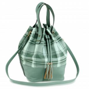 Drawstring Bucket Bag - Emerald