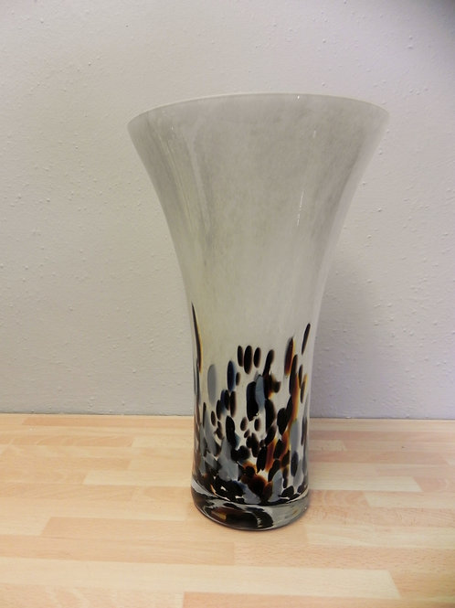 Classic Glass Vase - Blue Dynasty