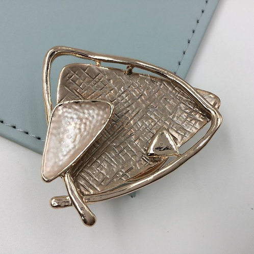 Magnetic Brooch Scarf Clip XZ-0861