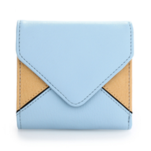 Blue/Beige Envelope Purse/Wallet
