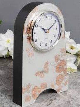Sophia Rose Gold Mantel Clock